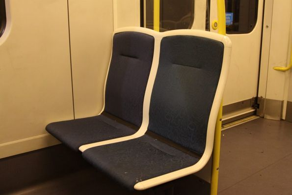 Amazing! A Siemens seat that won't make your pants dirty if you sit down on it!