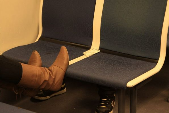Ever wondered why the seats on Siemens trains are always filthy?