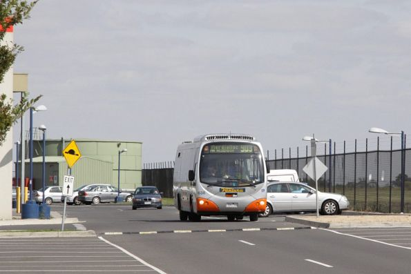 Ventura #638 rego 7261AO arrives into Essendon DFO with a route 903 Smartbus service