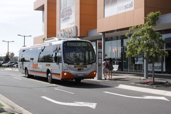 Ventura #644 7267AO at the Essendon DFO stop with a route 903 Smartbus service