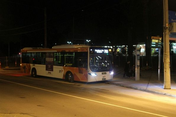 Ventura bus on a route 703 service at Blackburn station