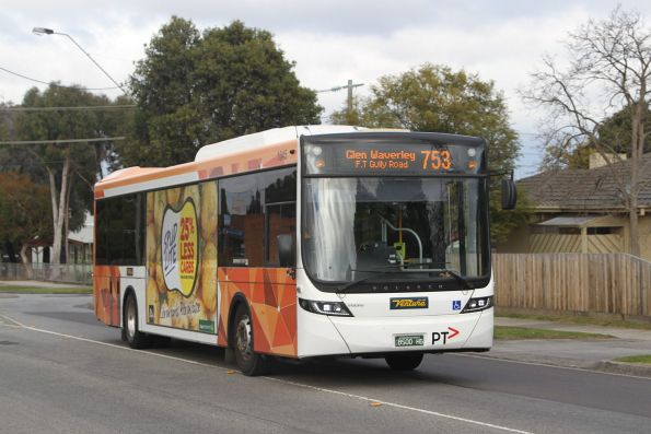 Ventura #1045 BS00HG on a route 753 service in Glen Waverley