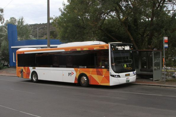Ventura bus #1266 BS01ZD on route 688 at Upper Ferntree Gully