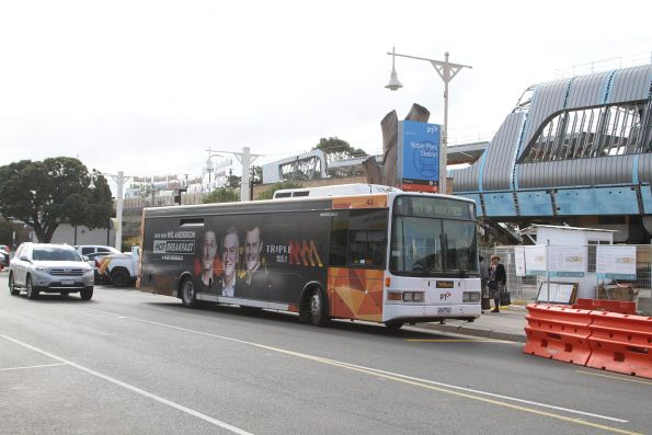 Ventura bus #43 4767AO outside Noble Park station