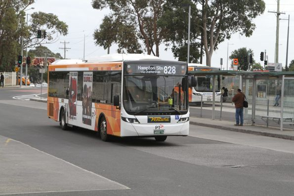 Ventura bus #1294 BS02YG on route 828 at Dandenong station