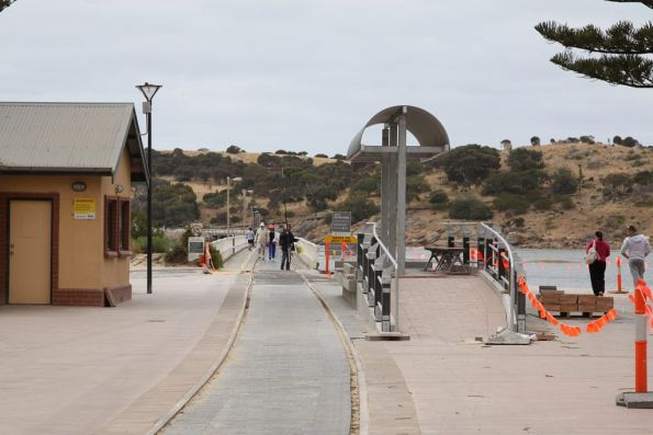Terminus platform being done up at Victor Harbor