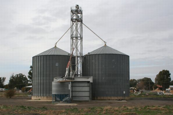 Tocumwal: two cell Aquila silo