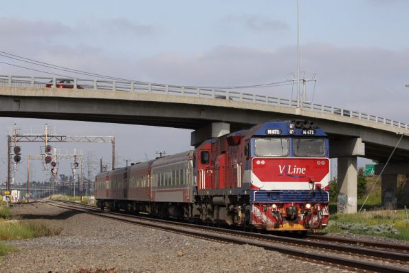 Tullamarine Loop was pulled up up a few years ago