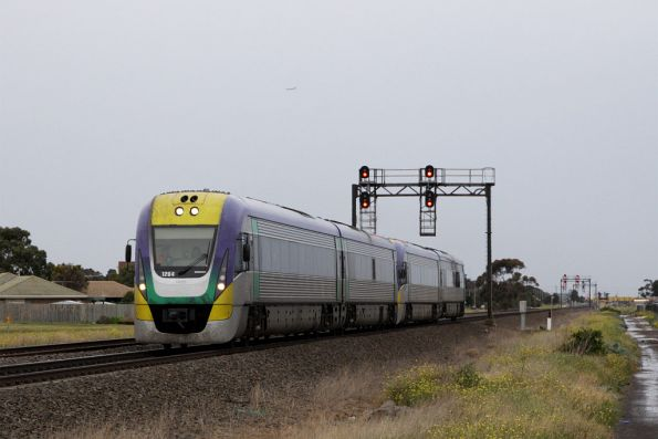 VL04 leads a classmate out of Deer Park bound for Ballarat
