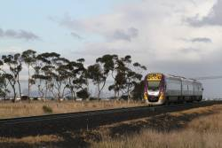 VLocity VL05 heads for Melbourne at Rockbank