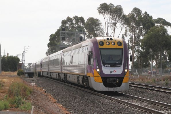 VLocity VL04 and VL59 depart Melton on the up