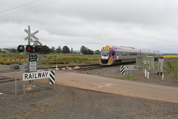 VLocity VL65 bound for Ballarat at Bungaree Loop West