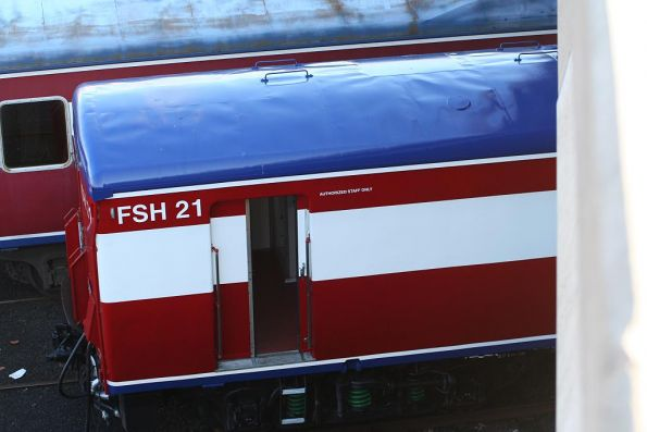 Carriage set FSH21 fresh out of refurbishment