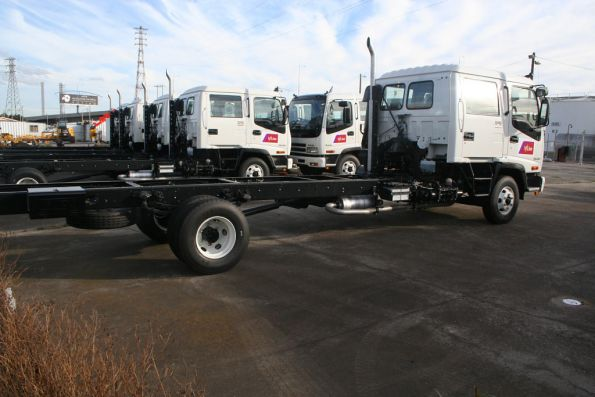 New V/Line track maintenance truck fleet