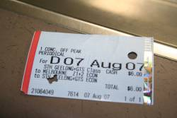 Daily Periodical ticket? (it's a return ticket issued at the periodical price)