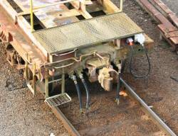Electrical connections on shunters float VZLA78