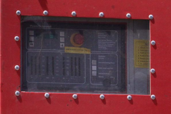 Control panel of the upgraded N class HEP genset