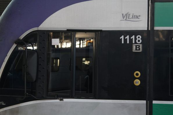 Original style cab window on VLocity VL18