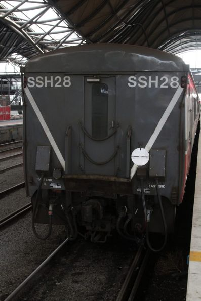 East end of 6-car carriage set SSH28