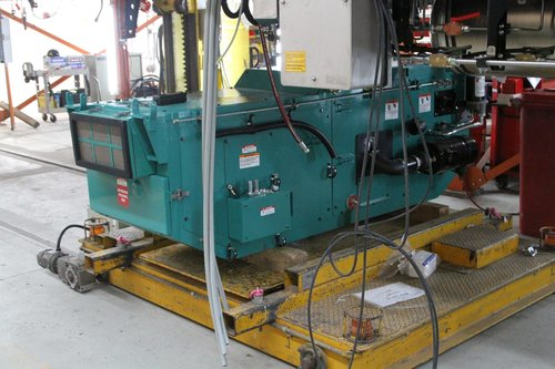 Cummins 6BT5.9G generator set beneath a VLocity railcar