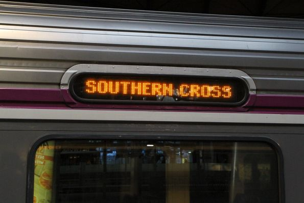 LED destination board fitted to refurbished Sprinter 7021