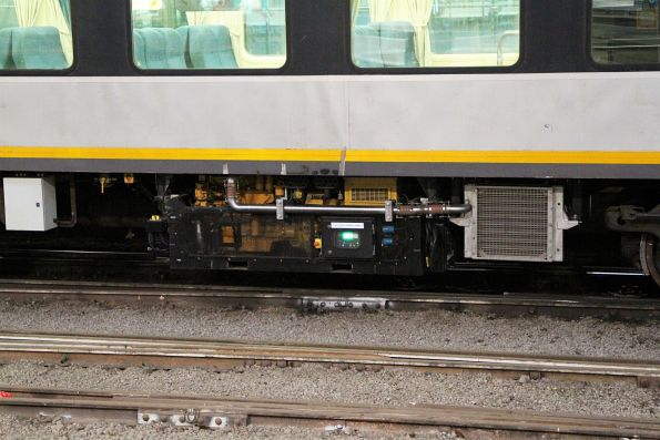 New style of generator set beneath carriage BRN56