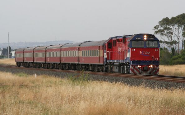 N460 with set SN7 near Corio