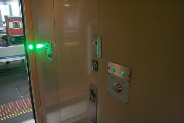Power door switches inside a BS carriage