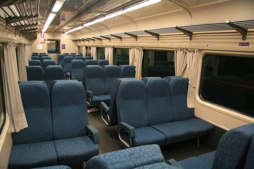No more antimacassars, economy section of a N car