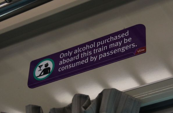 So V/Line won't sell booze from the buffet, but if I put on a funny hat and sell cocktails to fellow commuters it is legal?