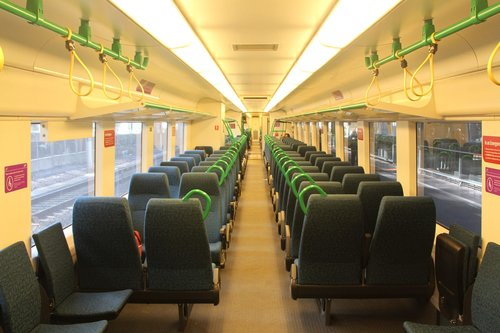 Interior of 13xx car inserted into 'original' interior VLocity unit VL07