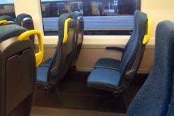 New style of seating inside VLocity VL77