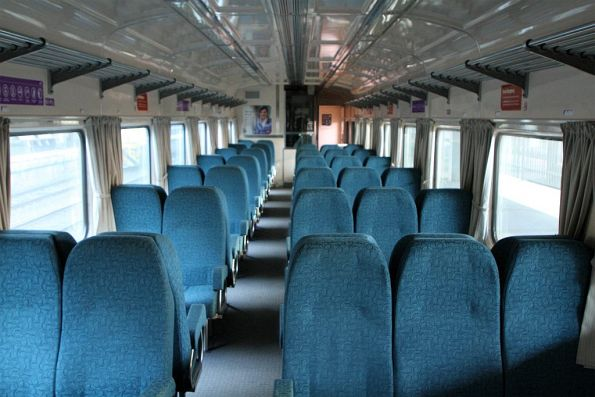 Onboard a BRN carriage