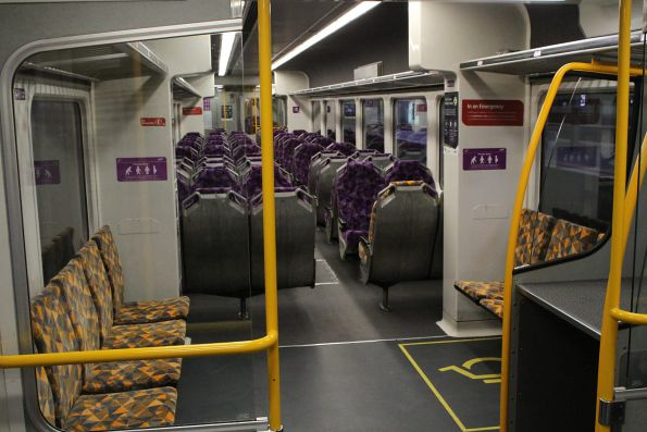 PTV branded interior fitted to Sprinter 7002