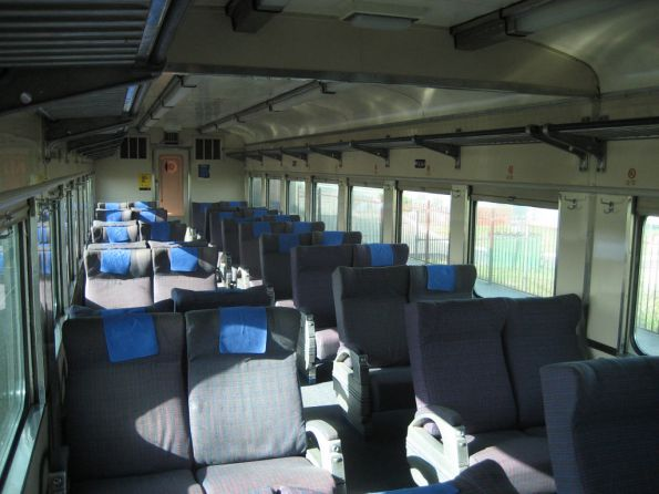 V/Line carriage interiors