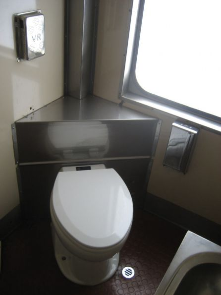 BS217: retention toilet retrofitted