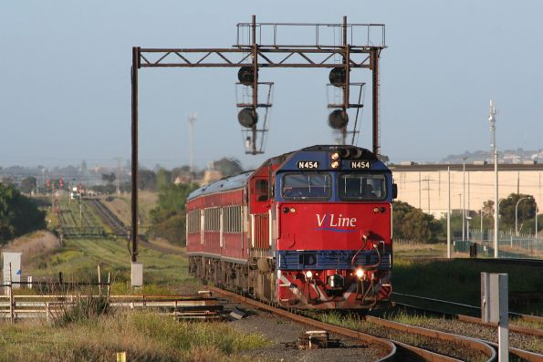 V/Line around Geelong