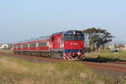 N462 on an up Geelong service at Corio
