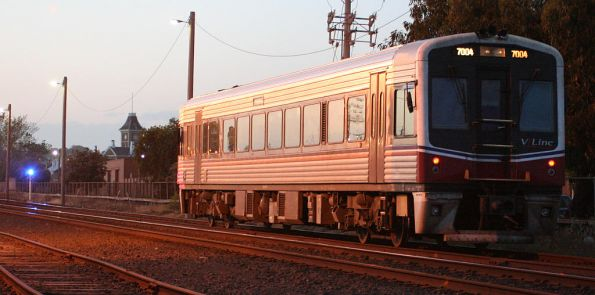 Sprinter 7004 between services at South Geelong