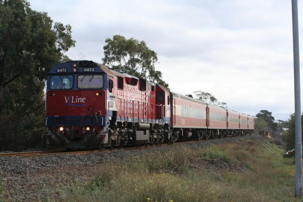 N473 arrives into South Geelong