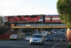 N473 on the Moorabool Street bridge