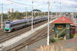Triple VLocities Geelong bound at North Geelong A