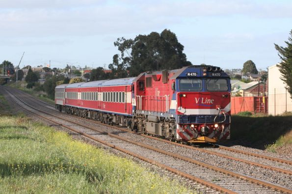 N470 on the up at North Geelong