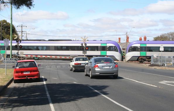 Vlocity holds up traffic at South Geelong