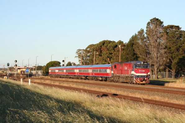N462 on the down at Corio