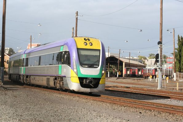 3VL36 departs Geelong on the up