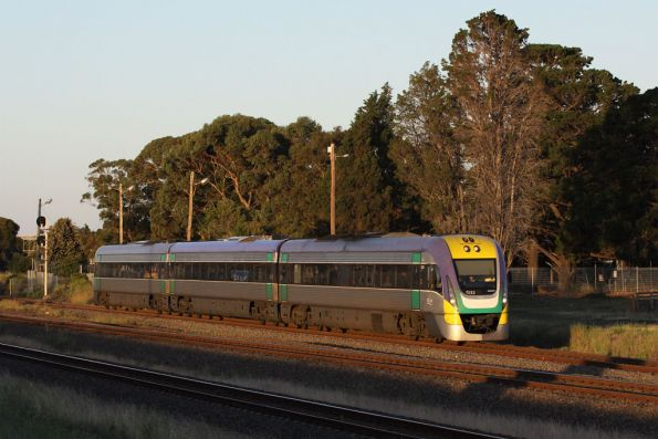 3VL22 on the down at Corio