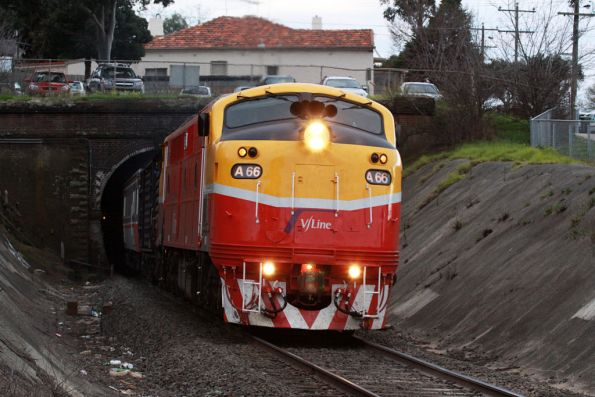 A66 emerges from the Geelong Tunnel