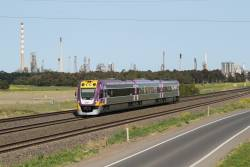 VLocity VL16 on the up at Corio