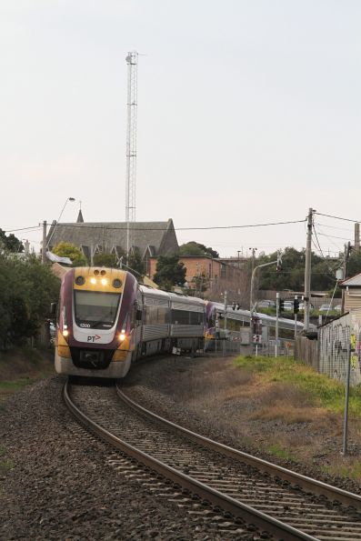 Vlocity VL00 and VL01 on the down at South Geelong